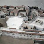 Maqueta de la ciudad helena de Pergamo en el Museo Pergamo de Berlín