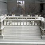 Maqueta del Altar de Pergamo en el Museo Pergamo de Berlín