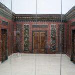 Paneles de madera del salón de Aleppo en el Museo Pergamo de Berlín