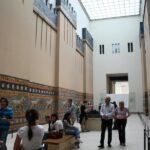 Reconstrucción de la Vía de las Procesiones de Babilonia en el Museo Pergamo de Berlín