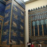 Puerta de Ishtar de Babilonia en el Museo Pergamo de Berlín