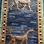 Cerámicas de la Puerta de Ishtar de Babilonia en el Museo Pergamo de Berlín
