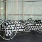 Diseño moderno en el Museo Automovilístico de Málaga