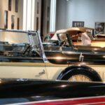 Coches clásicos en Museo Automovilístico de Málaga