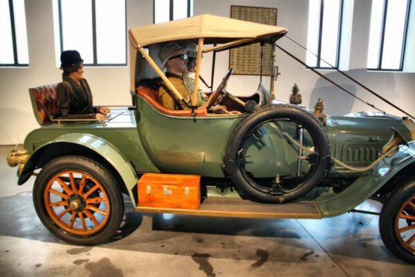 Delage de 1912 en Museo Automovilístico de Málaga