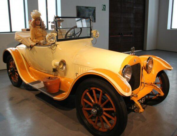 Buick de 1916 en el Museo Automovilístico de Málaga