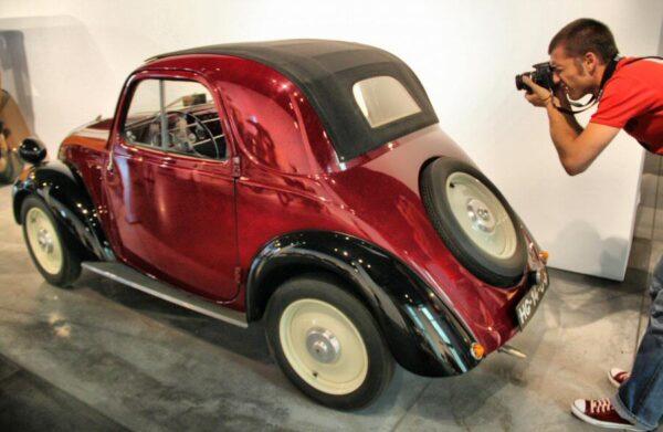 Fiat Topolino de 1955 en Museo Automovilístico de Málaga