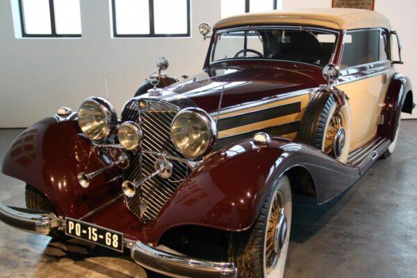 Mercedes de 1937 en Museo Automovilístico de Málaga