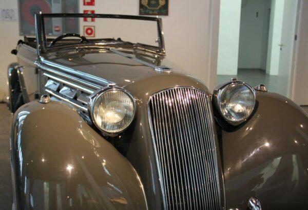 Lancia de 1934 en Museo Automovilístico de Málaga