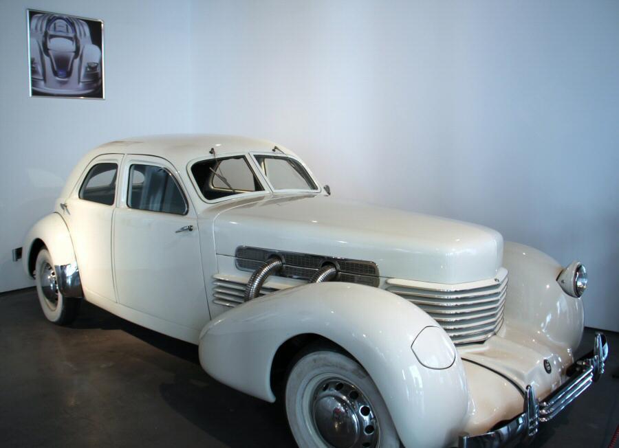 Cord de 1936 en el Museo Automovilístico de Málaga