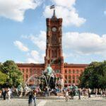 Ayuntamiento Rojo en Alexanderplatz en Berlín