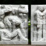 Monumento Marx Engels Forum de Alexanderplatz en Berlín