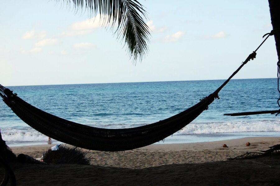 Playa de Punta Uva cerca de Puerto Viejo en el Caribe sur de Costa Rica