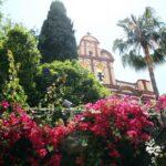 Jardines en el centro histórico de Málaga