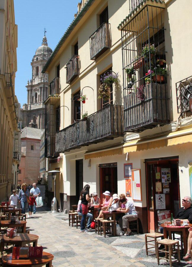 Fotos m laga centro hist rico gu as viajar for Cafe el jardin centro historico