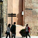 Rincón de los aledaños de la catedral de Málaga
