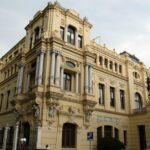 Edificio del Ayuntamiento en el centro histórico de Málaga