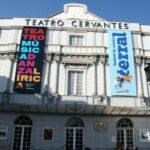 Teatro Cervantes en el centro histórico de Málaga