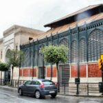 Mercado de Atarazanas en el centro histórico de Málaga