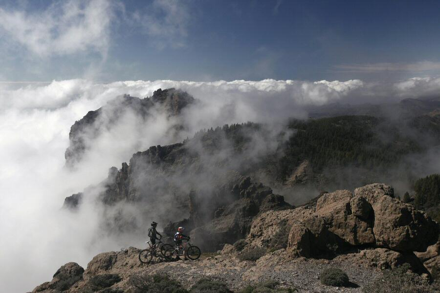 Excursiones de mountain bike en Gran Canaria
