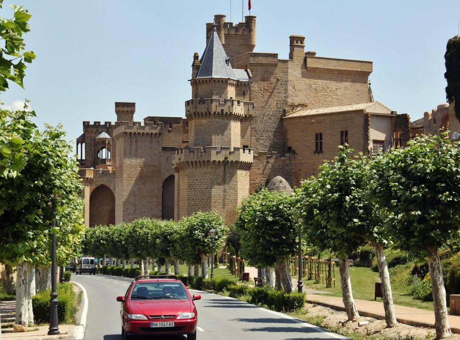 Castillo Olite en Navarra