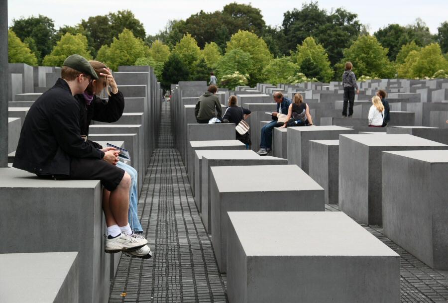 Monumento de los judios asesinados o del Holocausto de Berlín