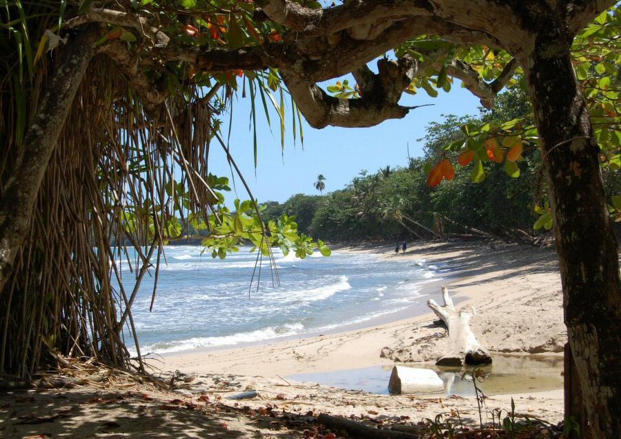Cahuita cerca de Puerto Viejo en el Caribe sur de Costa Rica