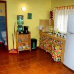 Cocina de la casa Luna Naranja en Puerto Viejo en Costa Rica