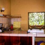 Cocina americana en la casa de alquiler Samadhi en Puerto Viejo en Costa Rica