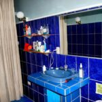Cuarto de aseo en la casa de alquiler Samadhi en Puerto Viejo en Costa Rica