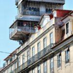 Mirador del Elevador de Santa Justa en Lisboa