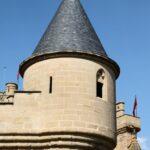 Torre del Castillo de Olite en Navarra