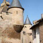 Torres del Castillo de Olite en Navarra