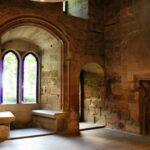 Sala de la Reina en el Castillo de Olite en Navarra