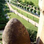 Pozo del Hielo junto al Castillo de Olite en Navarra