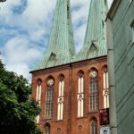 Iglesia de San Nicolás en el antiguo barrio medieval de Berlín