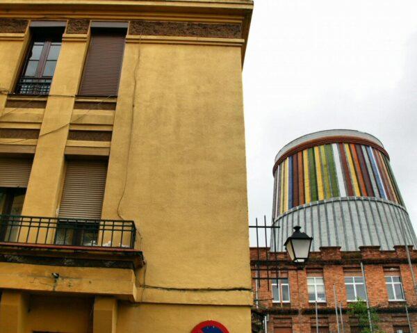 Barrio obrero en MUSI Museo de Siderurgia de Asturias en La Felguera