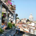 Mirador de Santa Lucía en Lisboa