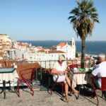 Mirador de Puertas del Sol en Lisboa
