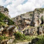 Río Irati por el desfiladero de la Foz de Lumbier en Navarra