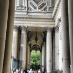 Pórtico de entrada al Dom Catedral de Berlín