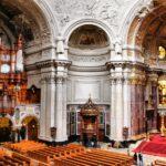 Panorámica interior del Dom Catedral de Berlín