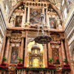 Altar Mayor de la catedral cristiana de la Mezquita de Córdoba