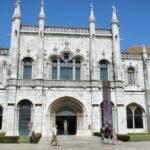 Fachada sur del Monasterio de los Jerónimos en Lisboa