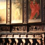 Coro de la iglesia del Monasterio de los Jerónimos en Lisboa