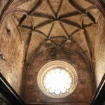 Techo nervado del Coro de la iglesia del Monasterio de los Jerónimos en Lisboa