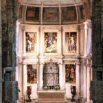Retablo del Altar Mayor de la iglesia del Monasterio de los Jerónimos en Lisboa