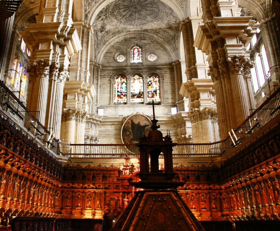 Coro de la Catedral de Málaga