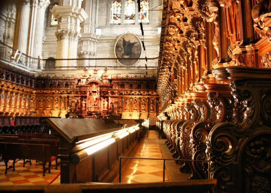 Resultado de imagen de catedral de málaga interior