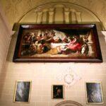 Pinturas de una capilla de la Catedral de Málaga